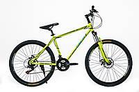 """Велосипед OSKAR 26"""" 1732 желто-зеленый"""