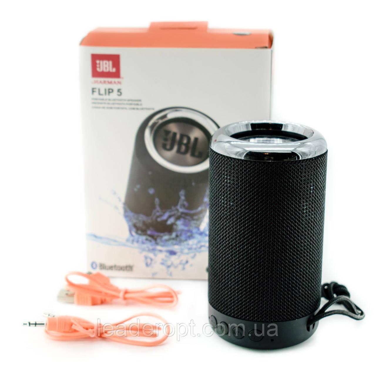 ОПТ Портативна колонка JBL Flip 5 акустична система бездротової Bluetooth-динамік переносний з USB