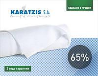 Сетка затеняющая KARATZIS белая 65% (6x50м)