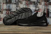 Кроссовки мужские 10211 BaaS Ploa, черные SALE! 47% [ 45 ] (45-28,8см)