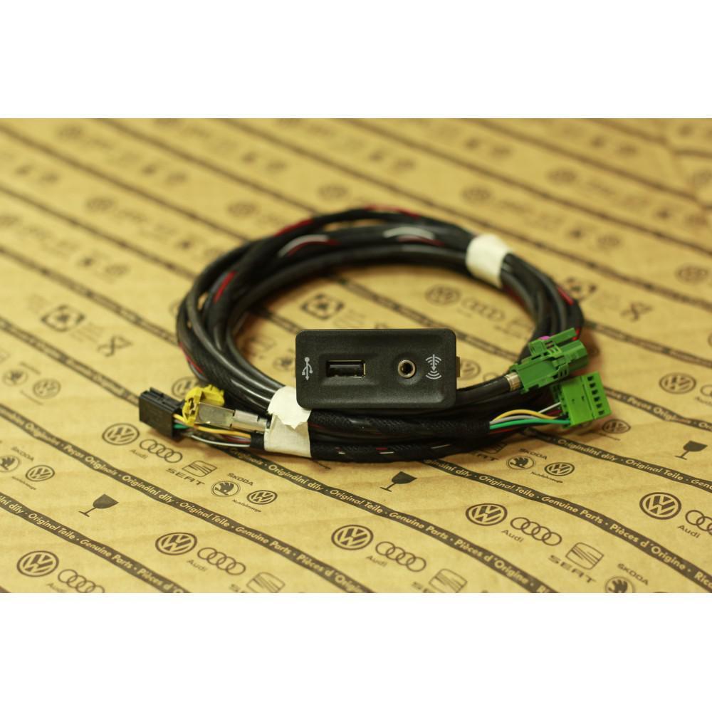 Адаптер для штатной магнитолы USB CARPLAY