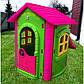 Игровой детский домик PLAY HOUSE с горкой, фото 8