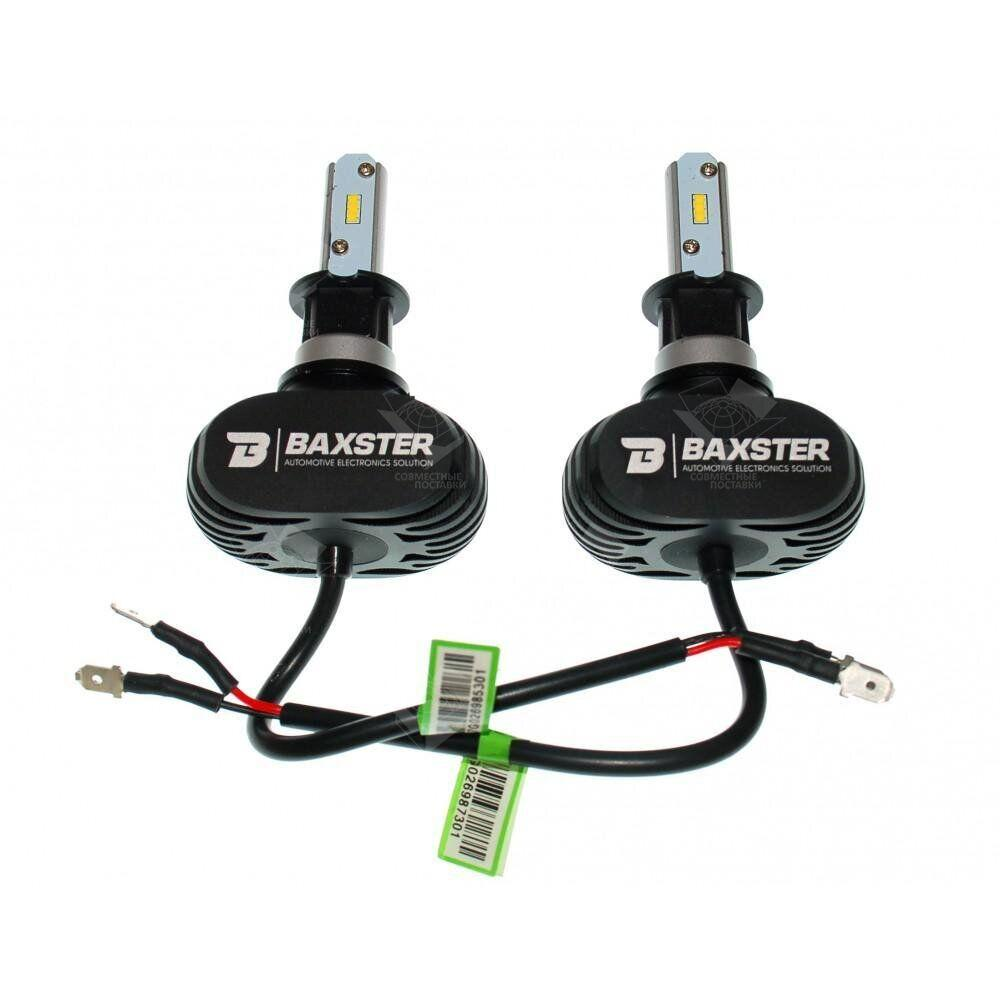 Комплект LED ламп BAXSTER S1 H3 6000K 4000lm с радиатором