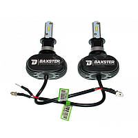 Комплект LED ламп BAXSTER S1 H3 6000K 4000lm с радиатором, фото 1