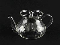 """Чайник для заварки стеклянный 750 мл 0118 """"А-ПЛЮС"""""""