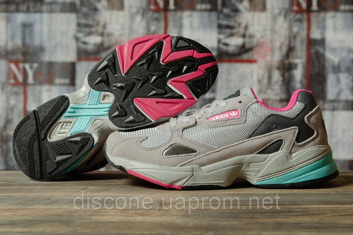 Кроссовки женские 16744 ► Adidas Falcon, серые ✅SALE! 37% [ 39 41 ] ► (39-25,0см)