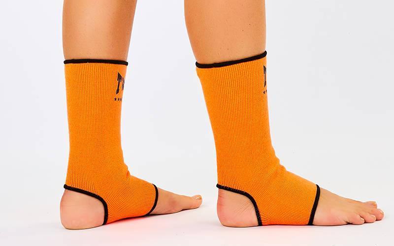 Защита голеностопа (2шт) TWINS оранжевая AG-PK