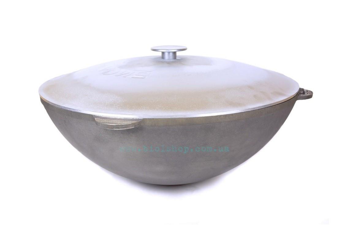 Казан чавунний Біол татарський з алюмінієвою кришкою 40 л 0940