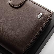 Натуральная кожаный мужской кошелек Dr.BOND М24 коричневый, фото 3