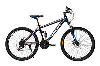 """Велосипед OSKAR 26""""SUS1803 черно-синий"""