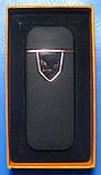 USB-запальничка електроімпульсна спіральна з сенсорною кнопкою (чорна), фото 3