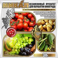 Фунгицид для защиты от заболеваний «Зеленый щит Микал М» Agromaxi (30г.)