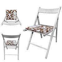 Подушка на стул Кедр на Ливане серия Light 33x32x2 см Цветы (1018)