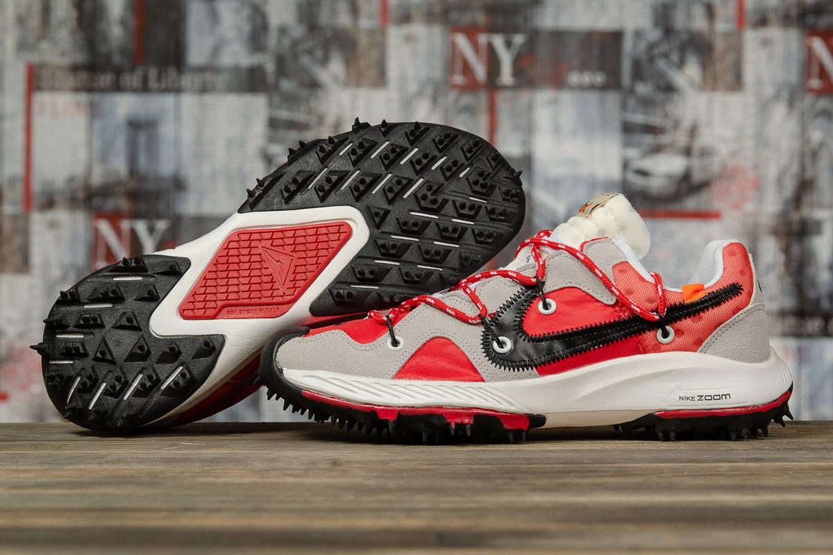 Кроссовки мужские 16721, Nike Air Zoom, красные, [ 42 43 44 45 ] р. 42-26,0см.