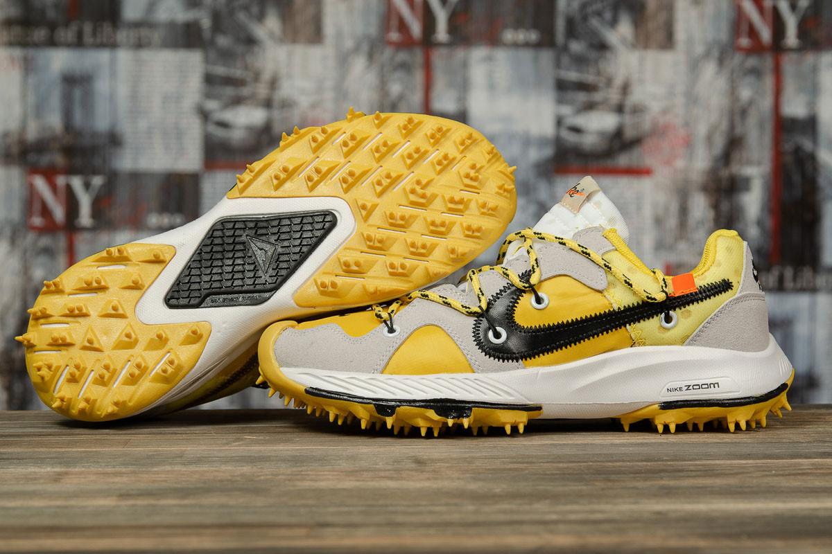 Кроссовки мужские 16722, Nike Air Zoom, желтые, < 42 43 45 > р. 42-26,0см.