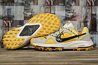 Кроссовки мужские 16722, Nike Air Zoom, желтые, < 42 43 45 > р. 42-26,0см., фото 1