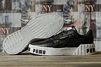 Кроссовки женские 16731, Puma Cali Sport, черные, < 36 > р. 36-22,5см.
