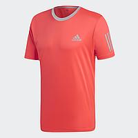 Оригинальная мужская футболка Adidas Club 3 Stripes Tee Climacool, L