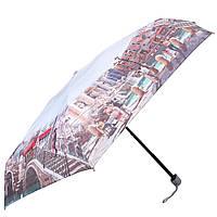 Женский компактный облегченный механический зонт LAMBERTI z75116-l1806a-0pb2