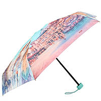 Женский компактный облегченный механический зонт LAMBERTI z75116-l1804a-0pb2