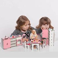 Мебель для кукольного домика Барби NestWood (КУХНЯ), фото 1