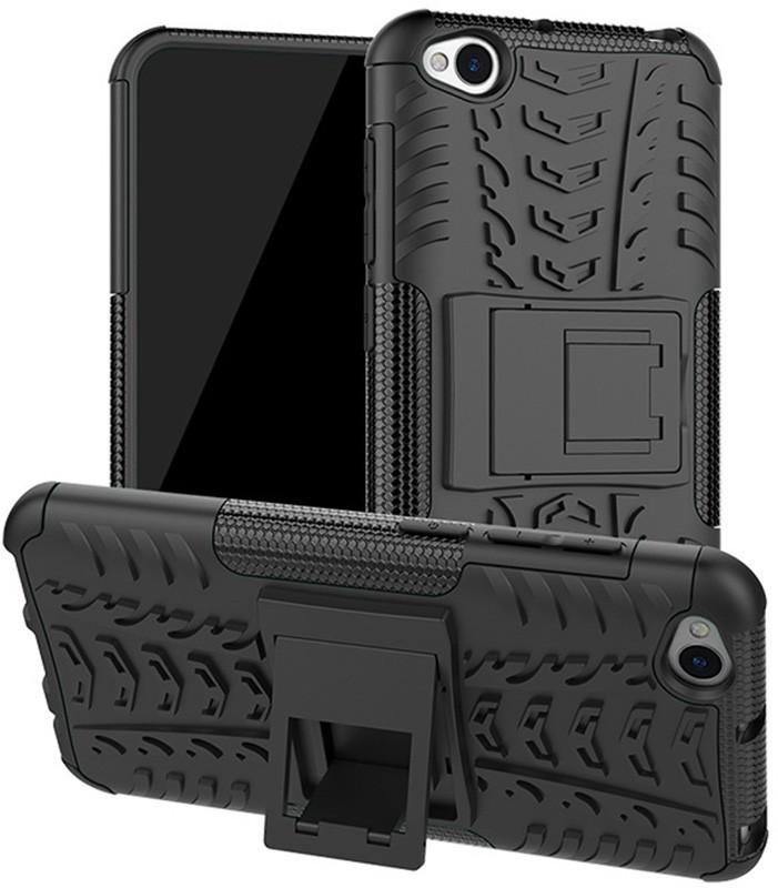 Чехол-накладка TOTO Dazzle Kickstand 2 in 1 Case Xiaomi Redmi Go Black #I/S