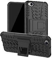 Чехол-накладка TOTO Dazzle Kickstand 2 in 1 Case Xiaomi Redmi Go Black #I/S, фото 1