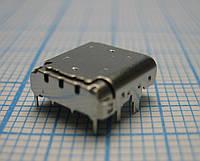 Конектор зарядки (Ch/conn) Type-C Універсальний / Вид 1 12pin, фото 1