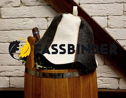 Шапка для бани и сауны Fassbinder™ комбинированный войлок, фото 2