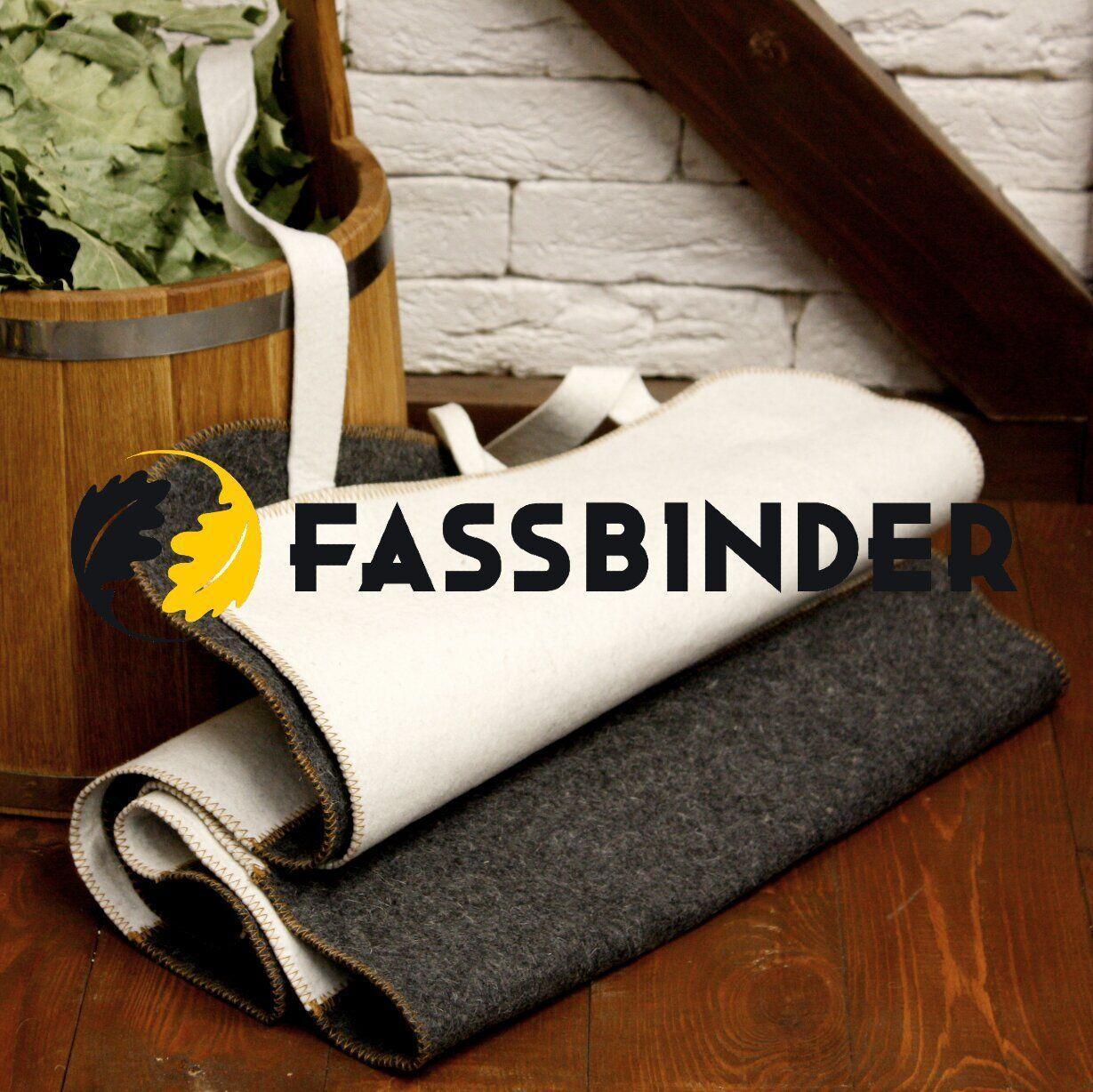 Коврик для сауны Fassbinder™ 180х50 см, натуральный войлок