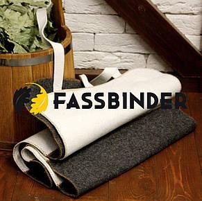 Коврик для сауны Fassbinder™ 180х50 см, натуральный войлок, фото 2