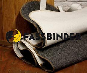 Коврик для сауны Fassbinder™ 180х50 см, натуральный войлок, фото 3