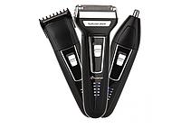 Электрическая бритва с триммером для бороды Gemei GM-573