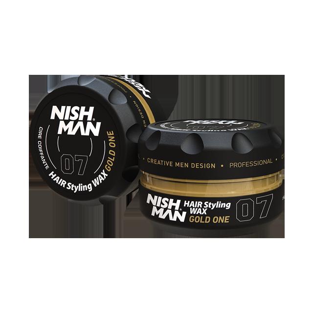 Nishman Gold One -  помада для укладки волос 150мл