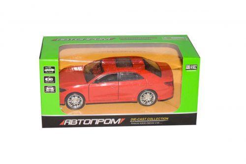 """Машинка """"Toyota Crown"""" из серии """"Автопром"""" (красная) 7797"""