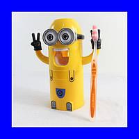 Дозатор для зубной пасты миньон. Дозатор Миньйон