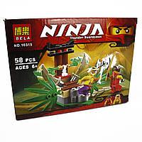 Конструктор Supretto Bela Ninjago 58 предметов (4852)