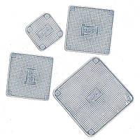 Набор силиконовых многоразовых крышек Supretto для хранения продуктов Прозрачный (4685)