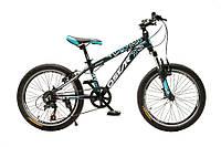 """Велосипед OSKAR 20""""1833 SCARP черно-голубой"""