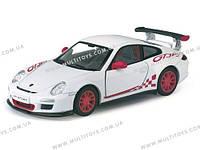 """Модель легковая 5"""" PORSCHE 911 GTS RS (2010) метал.инерц.откр.дв.1:36 кор.ш.к."""