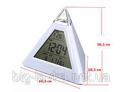 Часы с подсветкой и термометром