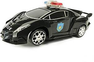 Робот-трансформер Yijun Police 8997 Черный (RM101001170)