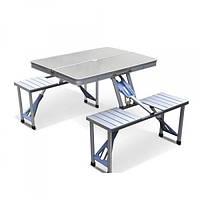Стол для пикника Folding Table Серебристый (258477)