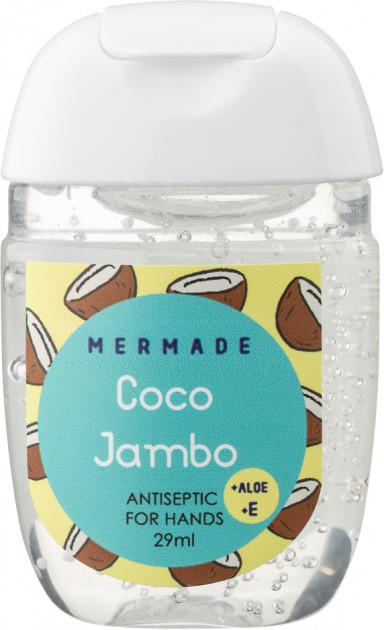 Санитайзер антисептик для рук Mermade Coco Jumbo Perfume Hand Gel 29 мл