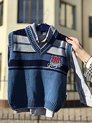 """Жилетка """"№90"""" ріст 98 см на 3 роки, на сорочку."""