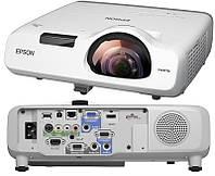 Акция! Короткофокусный проектор Epson EB-536Wi (WXGA, 3400 ANSI Lm) (V11H670040) [Скидка 5%, при условии 100% предоплаты!]