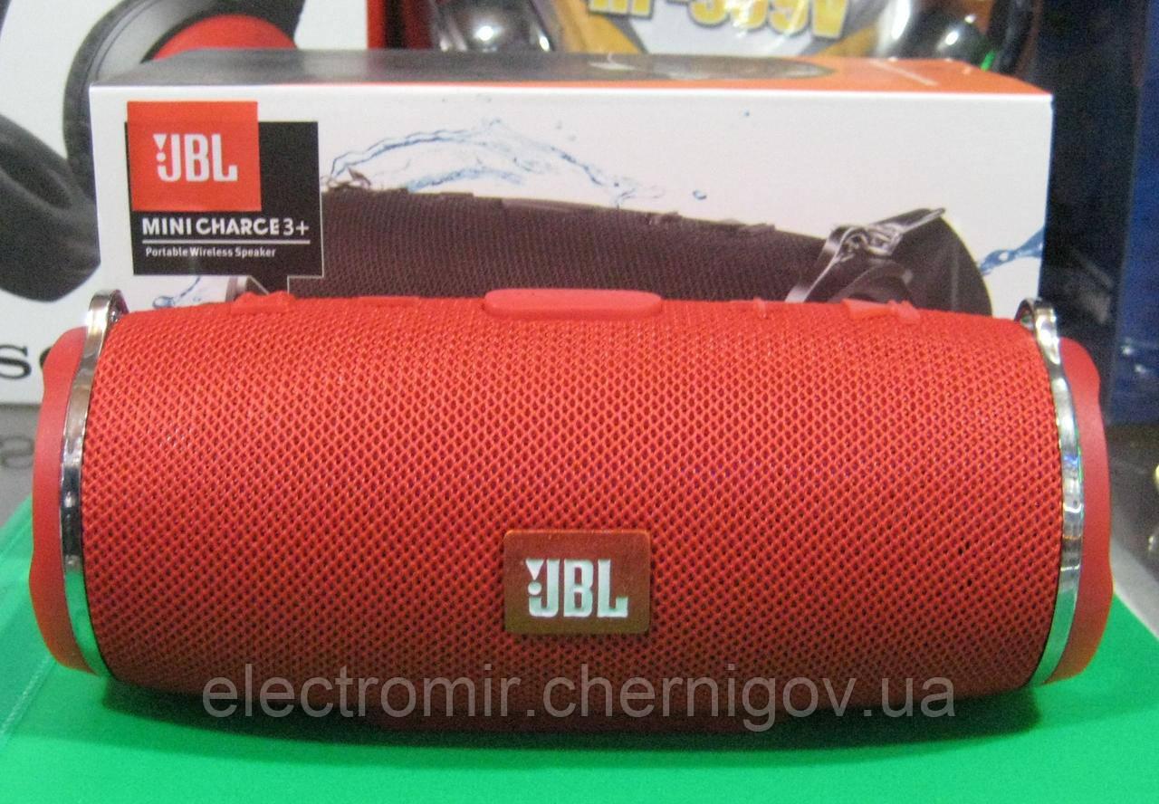Портативная Bluetooth колонка JBL Mini Charge 3+ (красная)