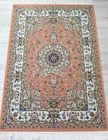 Настоящие персидские ковры в Киеве, купить ковры иран цена, ковер кирпично оранжевого цвета