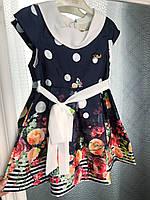 """Нарядное платье для девочки """"Pink"""" 3-6 лет., фото 1"""