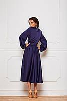 Красивое нарядное миди платье на длинный рукав (M/L, L/XL)